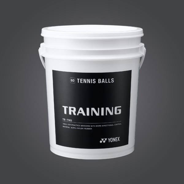 Yonex TRAINING TB-TNGEX  (BUCKET/60BALLS) Tennis Balls