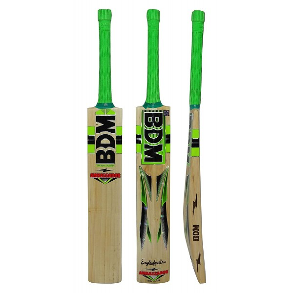 BDM Ambassador English Willow Cricket Bat (SH)