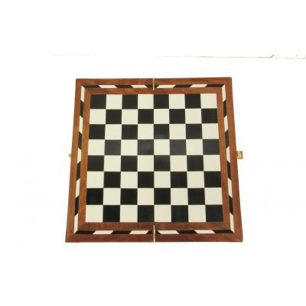 "AVM 14"" Acrylic Folding Chess Board without Coins"