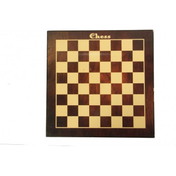 "AVM 16"" MDF Flat Chess Board without Coins"