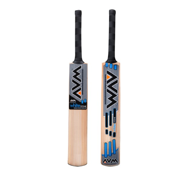 AVM White Stone Kashmir Willow Cricket Bat
