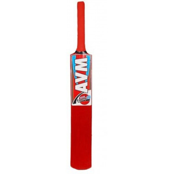 AVM Splash 20-20 Orange Kashmir Willow Cricket Bat