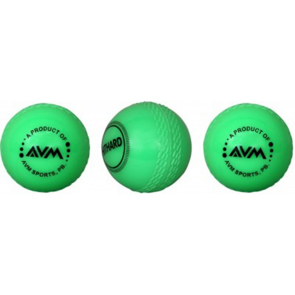 AVM Green Wind Cricket Ball (Pack of 3)
