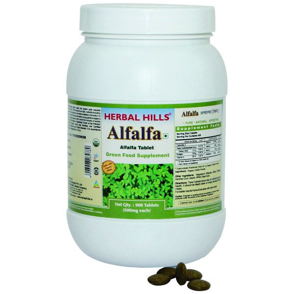 Herbal Hills Alfalfa Value Pack 900 Tablets