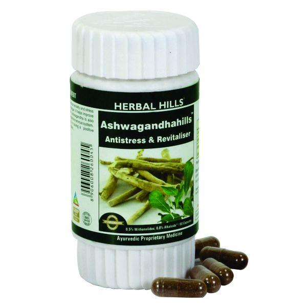 Herbal Hills Ashwagandhahills 60 Capsule