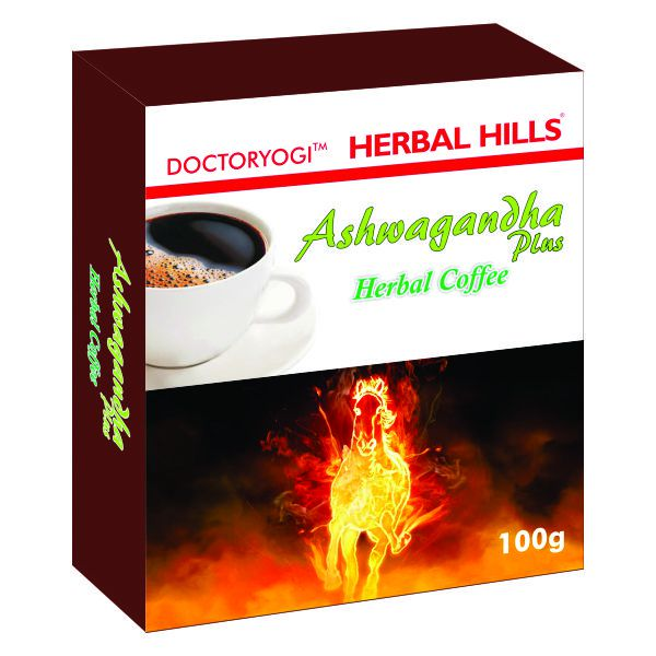 Herbal Hills Ashwagandha Herbal Coffee 100 Gms