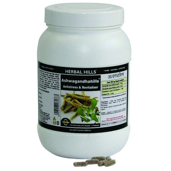 Herbal Hills Ashwagandhahills Value Pack 700 Capsule