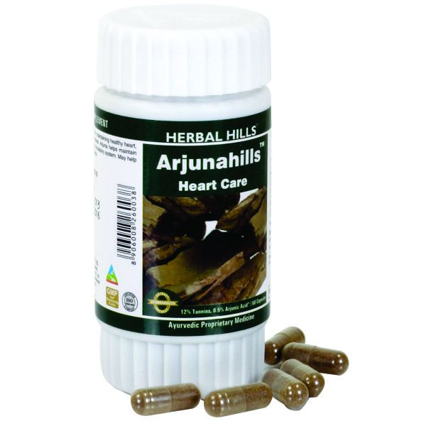 Herbal Hills Arjunahills 60 Capsule