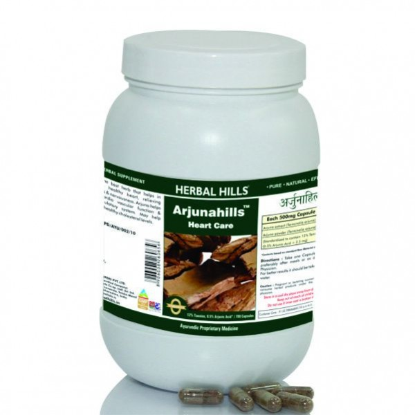 Herbal Hills Arjunahills Value Pack 700 Capsule
