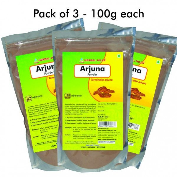 Herbal Hills Arjuna Powder 100 Gms Powder