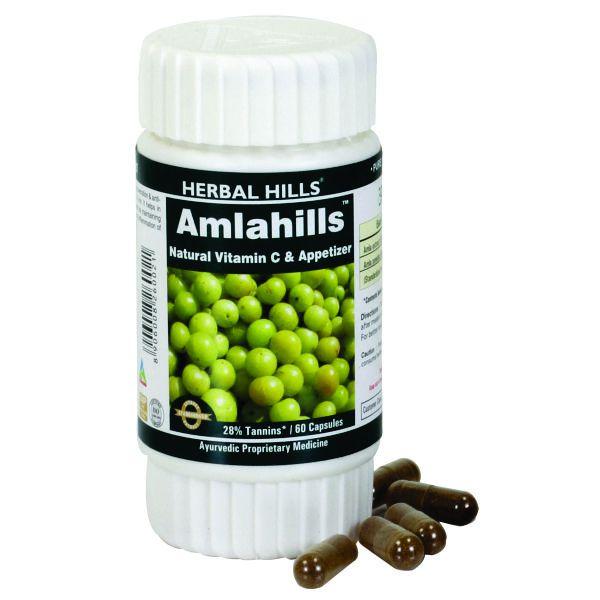 Herbal Hills Amlahills 60 Capsule