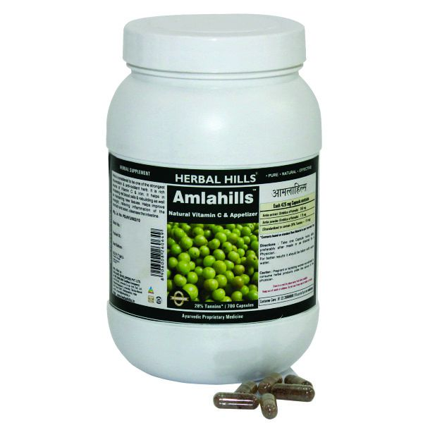 Herbal Hills Amlahills Value Pack 700 Capsule