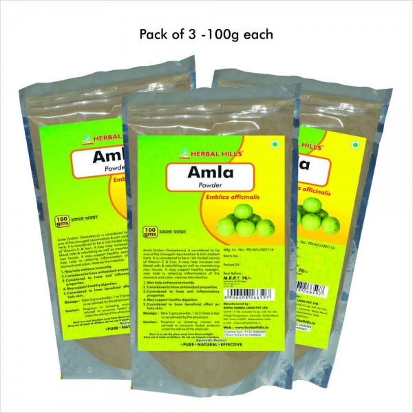 Herbal Hills Amla Powder 100 Gms