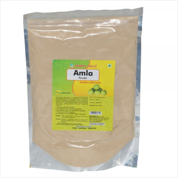 Herbal Hills Amla Powder 1 Kg (Pack of 2)