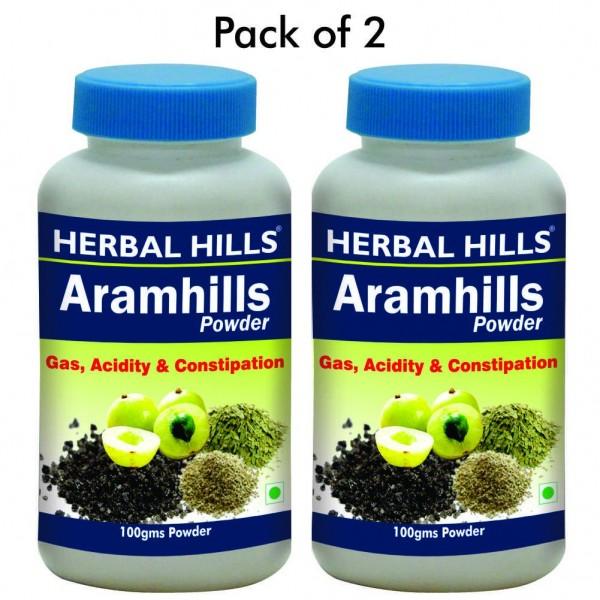 Herbal Hills Aramhills Powder 100 Gms Powder