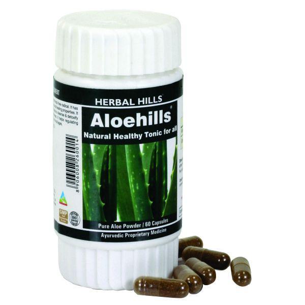 Herbal Hills Aloehills 60 Capsule