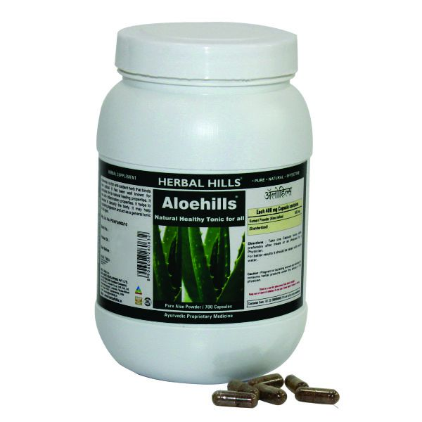 Herbal Hills Aloehills Value Pack 700 Capsule
