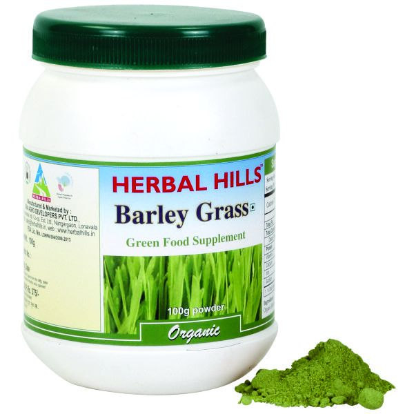 Herbal Hills Barley Grass 100 Gms Powder