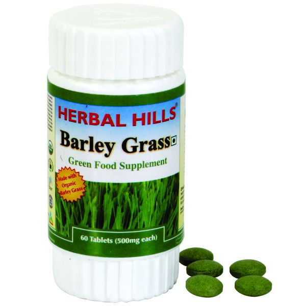 Herbal Hills Barley Grass 60 Tablets