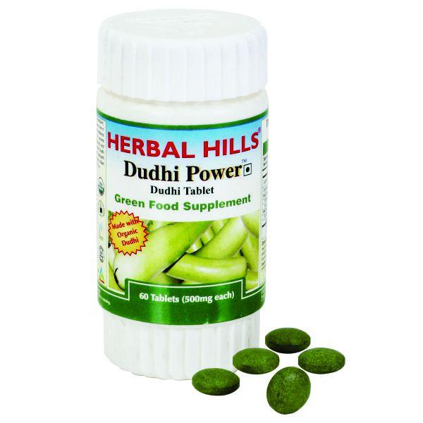 Herbal Hills Dudhi Power ( Bottle Gourd) 60 Tablets