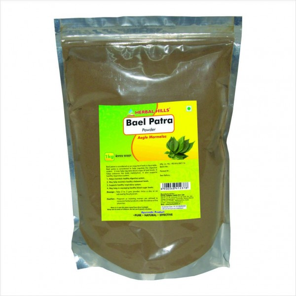 Herbal Hills Baelpatra Powder 1 Kg Powder