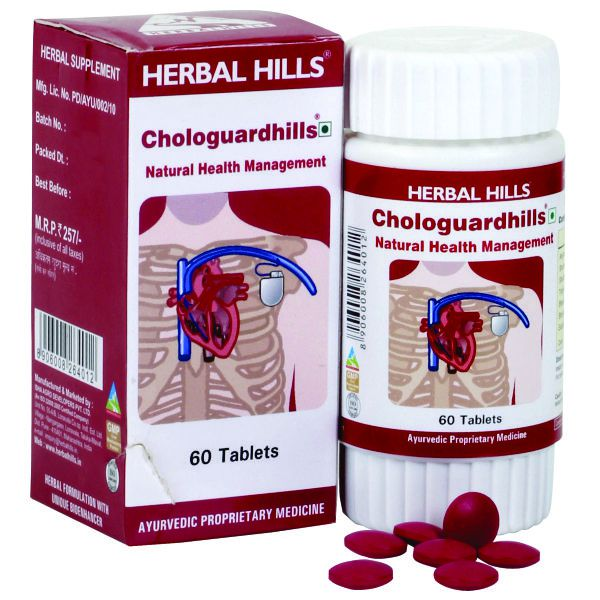 Herbal Hills Chologuardhills 60 Tablets