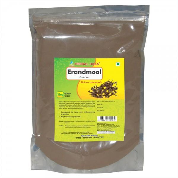 Herbal Hills Erandmool Powder 1 Kg Powder