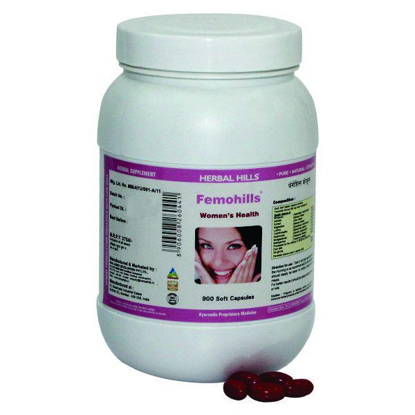 Herbal Hills Femohills Value Pack 900 Capsule
