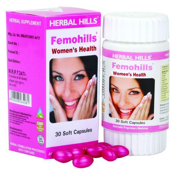 Herbal Hills Femohills 30 Capsule