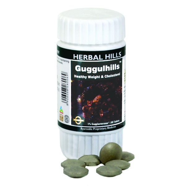 Herbal Hills Guggulhills 60 Tablets