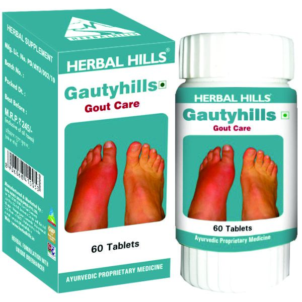 Herbal Hills Gautyhills 60 Tablets