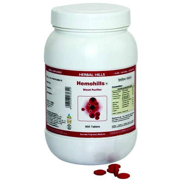 Herbal Hills Hemohills Value Pack 900 Tablets