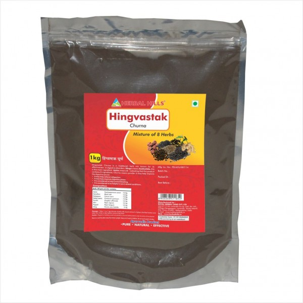 Herbal Hills Hingvastak Churna 1 Kg Powder