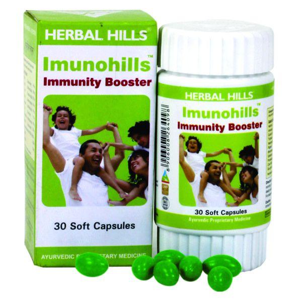Herbal Hills Imunohills 30 Capsule