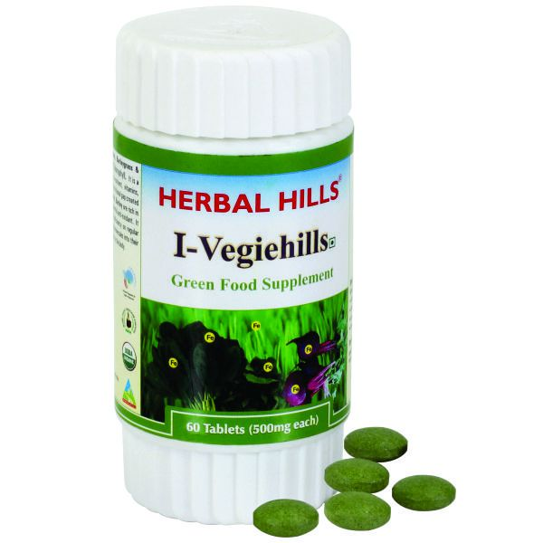 Herbal Hills I Vegiehills 60 Tablets