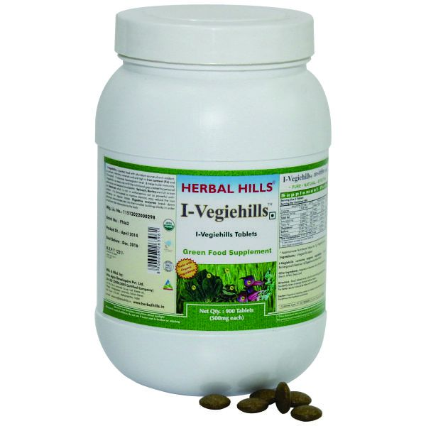 Herbal Hills IVegiehills Value Pack 900 Tablets