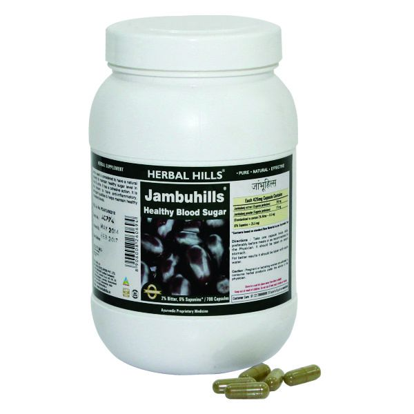 Herbal Hills Jambuhills Value Pack 700 Caps