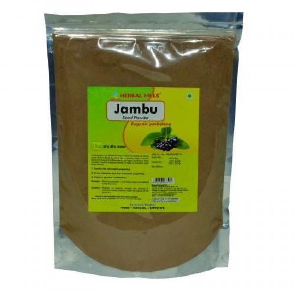 Herbal Hills Jambu Beej Powder 1 Kg Powder