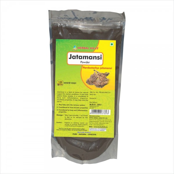Herbal Hills Jatamansi Powder 100 Gms Powder