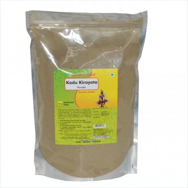 Herbal Hills Kadu Kirayata 1 Kg Powder