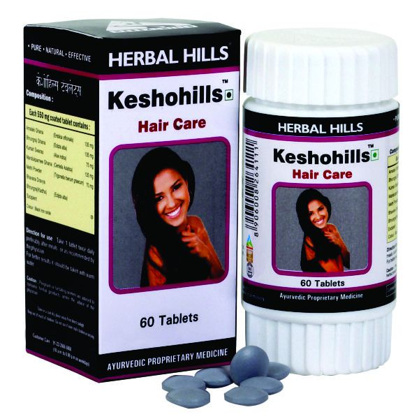 Herbal Hills Keshohills 60 Tablets