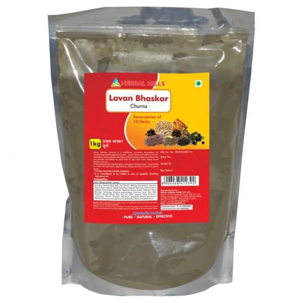 Herbal Hills Lavan Bhaskar Churna 1 Kg Powder