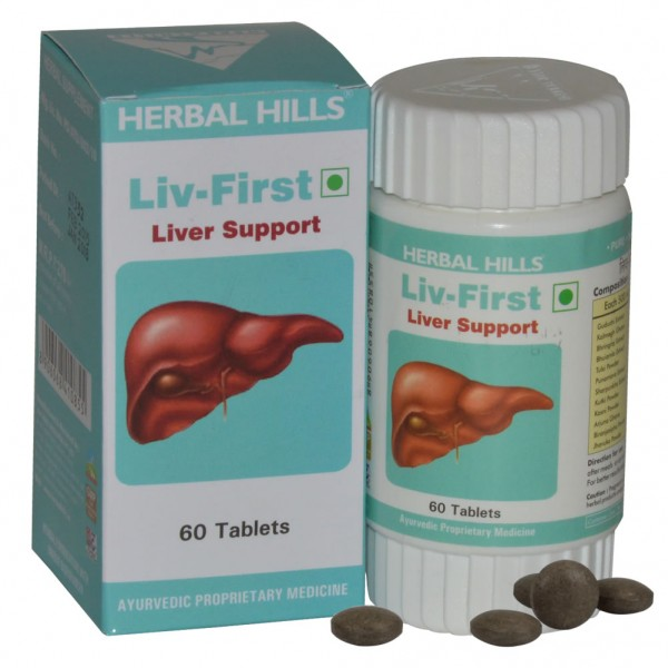 Herbal Hills Liv First 60 Tab