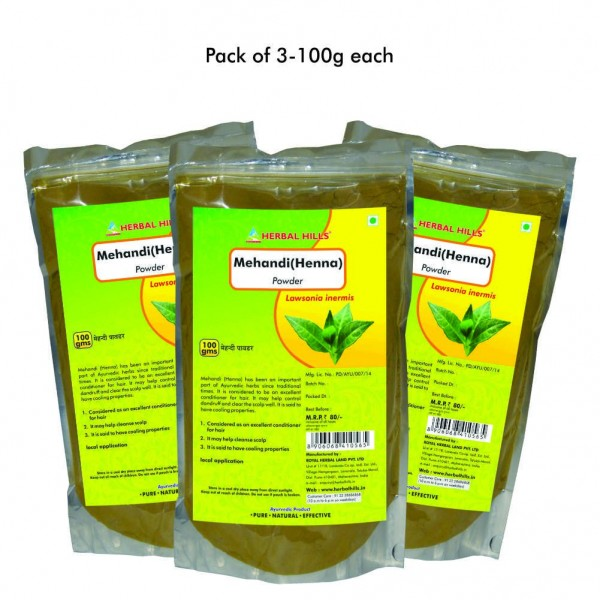 Herbal Hills Mehandi Powder 100 Gms Powder