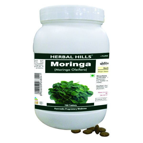 Herbal Hills Moringa Value Pack 700 Tablets
