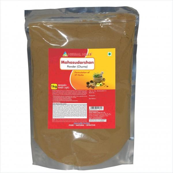 Herbal Hills Mahasudarshan Churna 1 Kg Powder