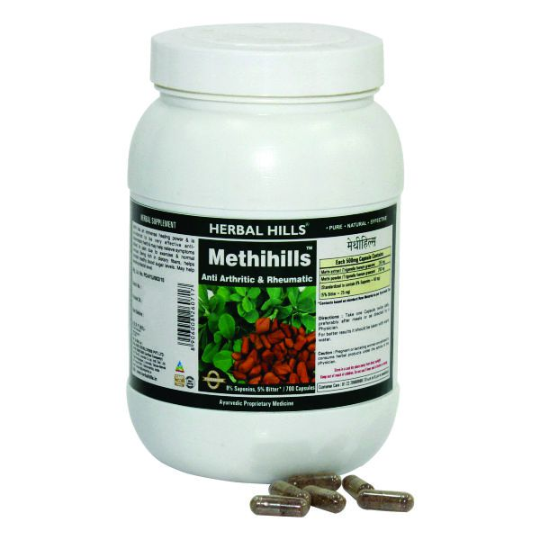 Herbal Hills Methihills Value Pack 700 Capsule