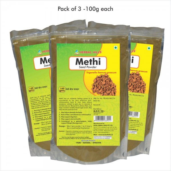 Herbal Hills Methi Seed Powder 100 Gms Powder