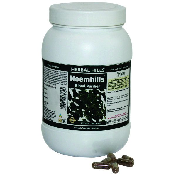 Herbal Hills Neemhills Value Pack 700 Capsule