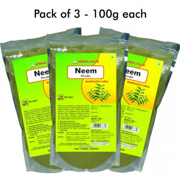 Neem Patra Powder 100 gms Pack of 2
